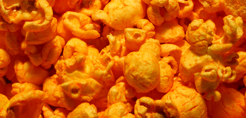 Blazing Cheese Popcorn