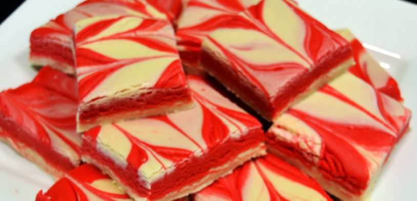 Cherry Vanilla Swirl Fudge