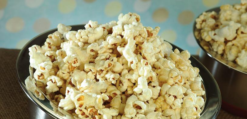 Kettle popcorn, Popcorn