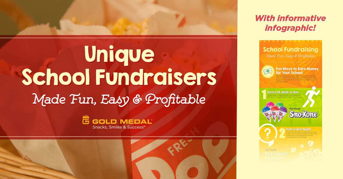 Unique School Fundraisers Made Fun, Easy & Profitable