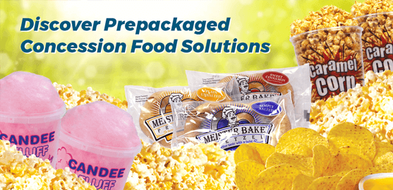 Discover Prepackaged Concession Food Solutions