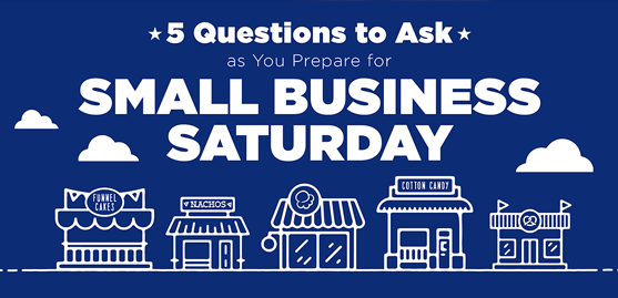 5 Questions to Ask as You Prepare for Small Business Saturday