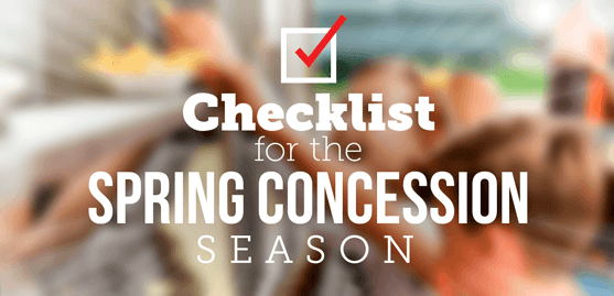 Checklist for the Spring Concession Season
