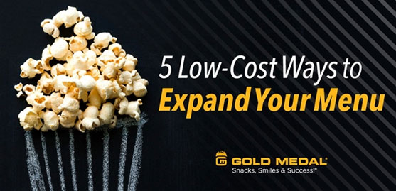 5 Low-Cost Ways to Expand Your Menu