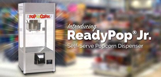 ReadyPop Jr. Self-Serve Popcorn Dispenser