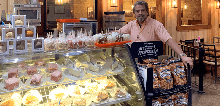 Restaurant Finds Sweet Addition with Candy and Caramel Apples
