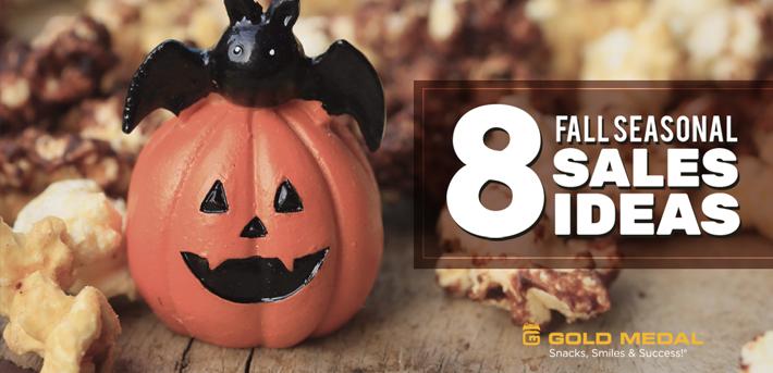 8 Fall Seasonal Sales Ideas