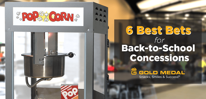 6 Best Bets for Back-to-School Concessions