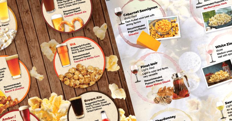Popcorn, Wine, and Beer Pairings