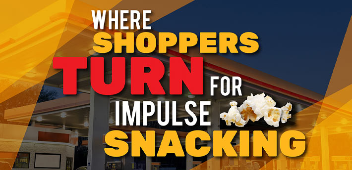 Where Shoppers Turn for Impulse Snacking