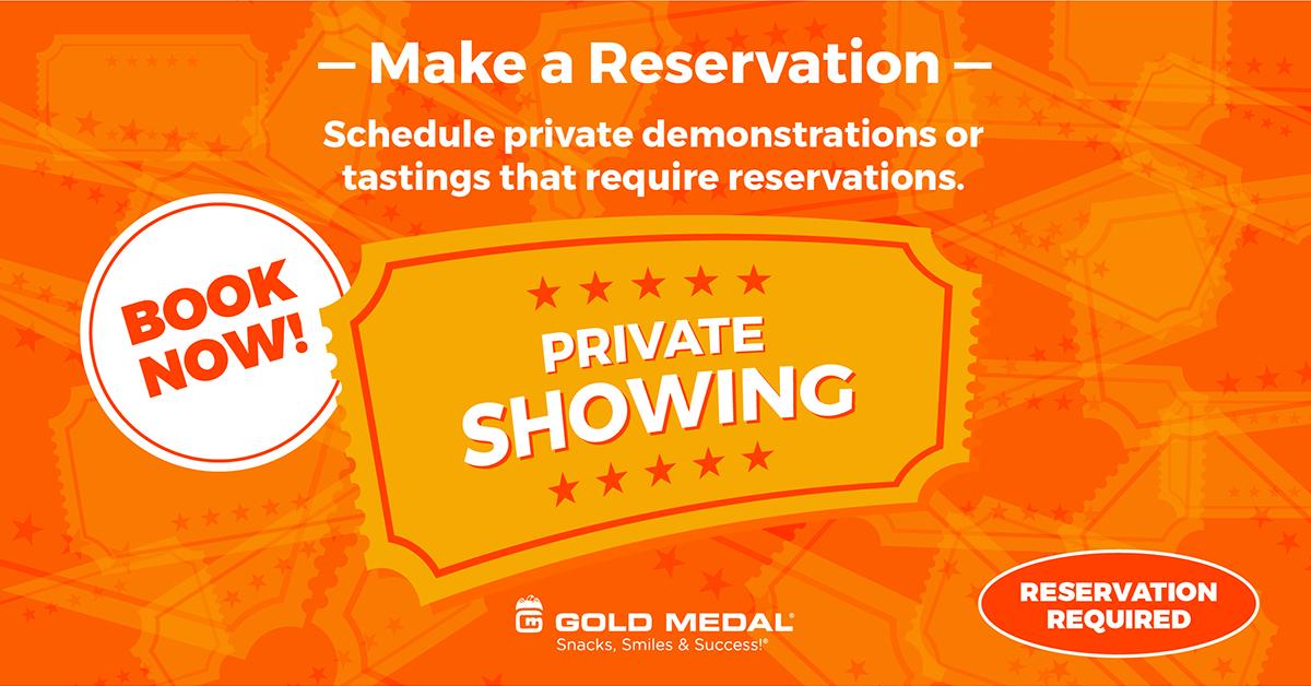 6 – Make a Reservation.