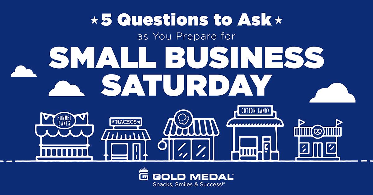 Prepare for Small Business Saturday