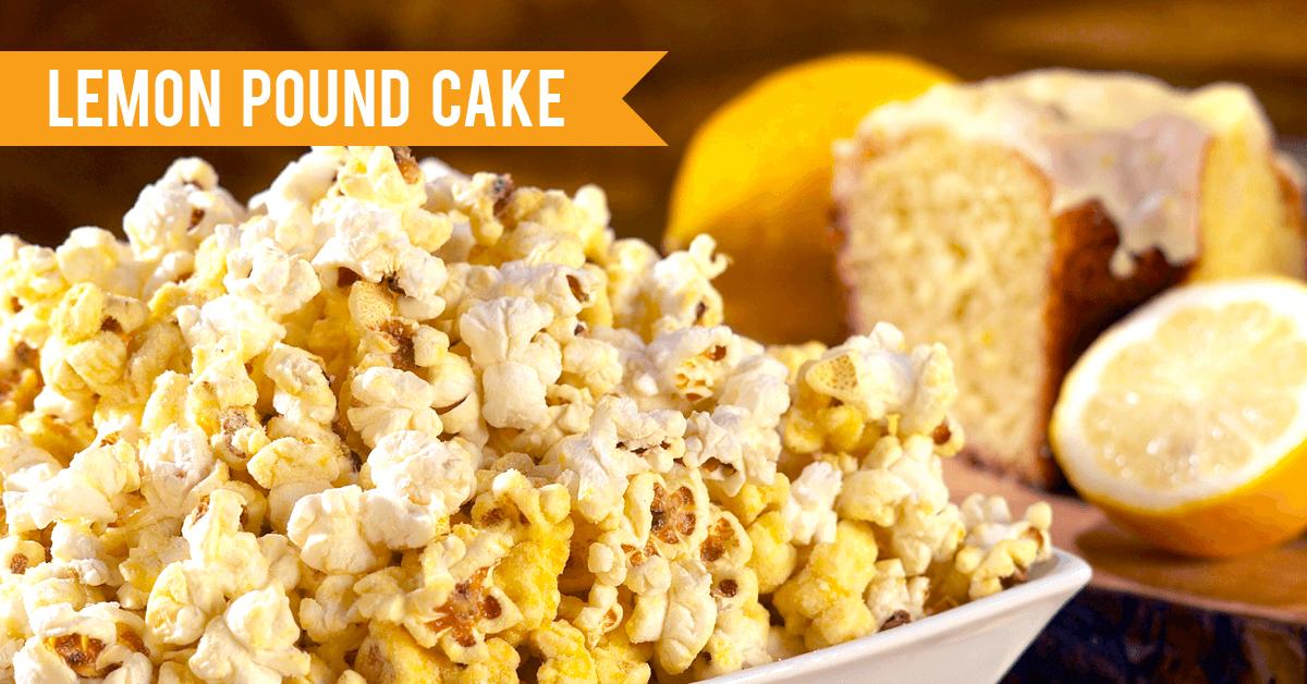 2021 Flavor Trends - Lemon Pound Cake