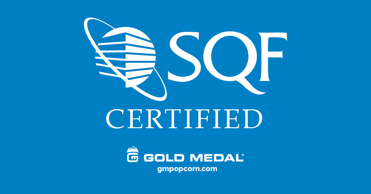 Gold Medal is SQF Certified