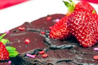 Chocolate-Covered Strawberry Fudge