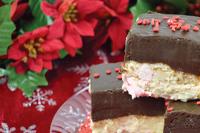 Chocolate Peppermint Bark Fudge