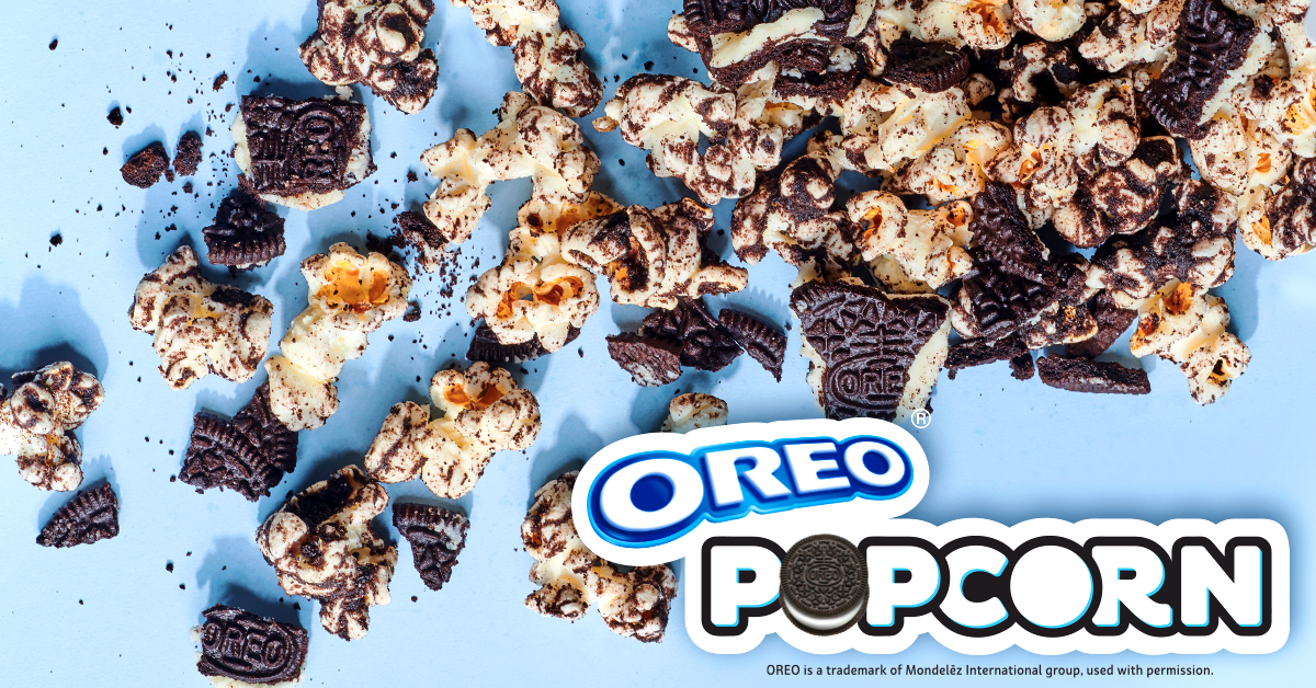 OREO® Popcorn Dessert