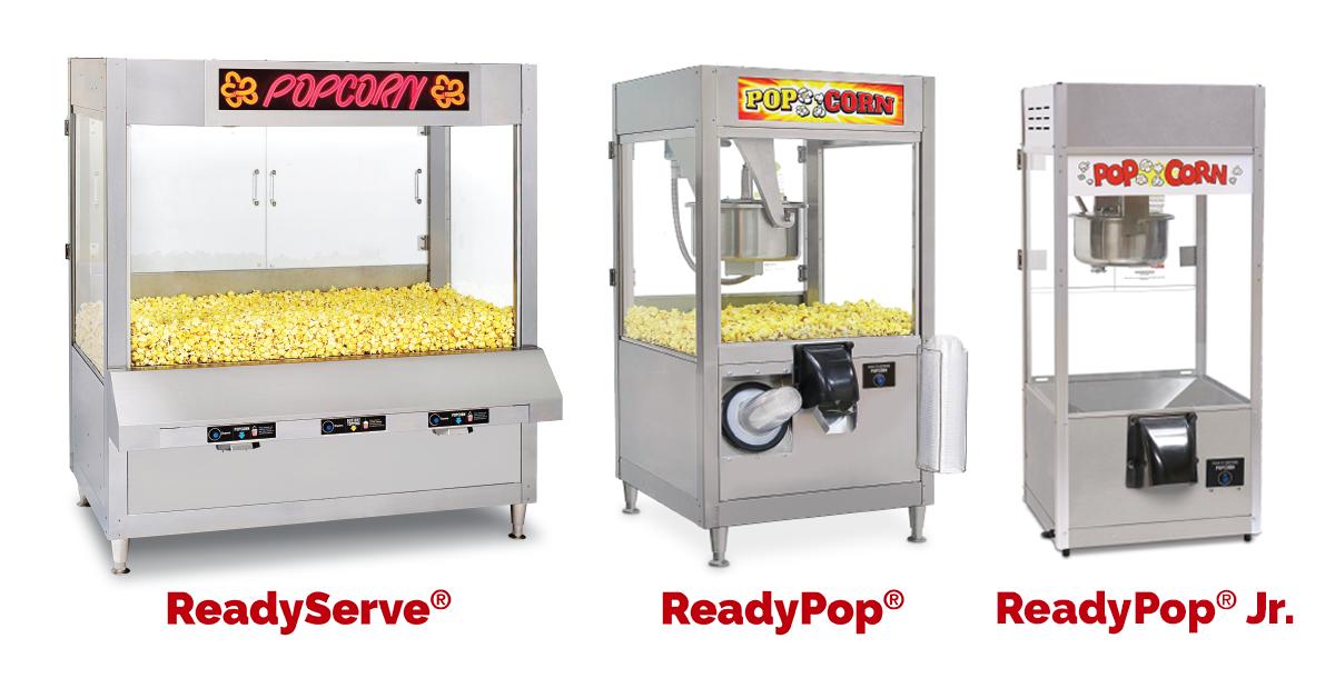 Self-Serve Popcorn Machines