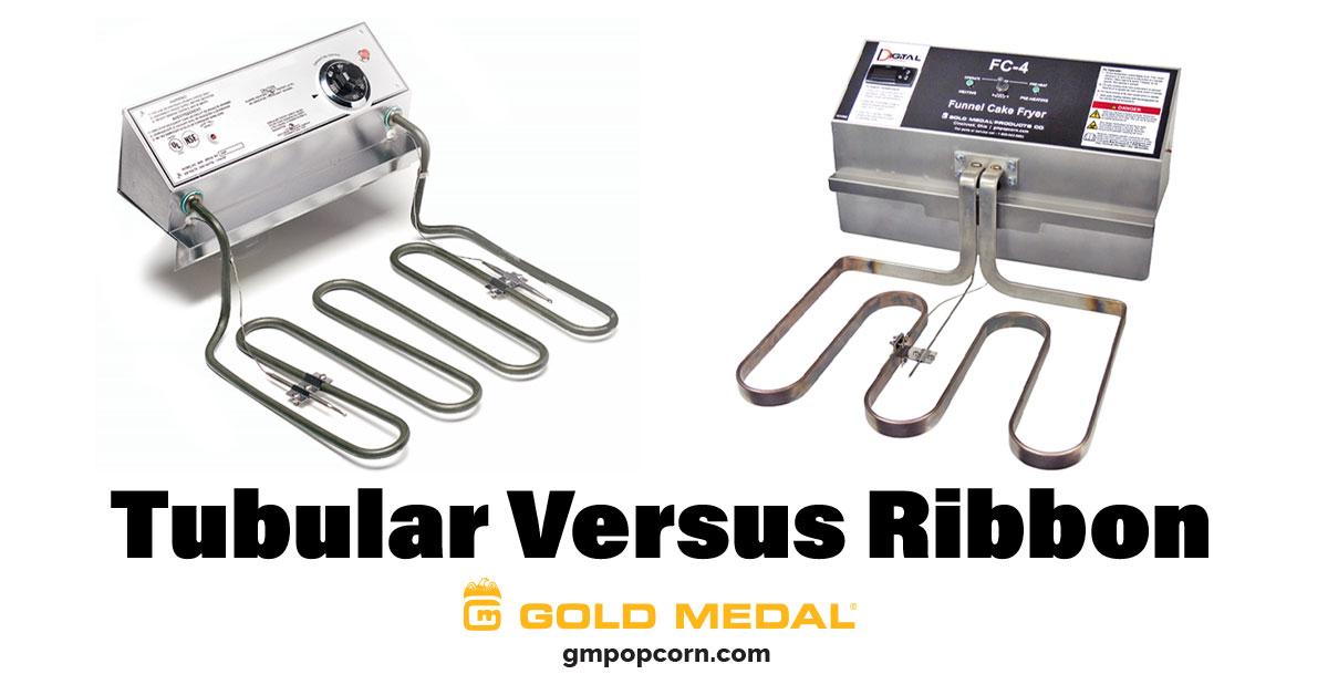 Tubular vs Ribbon Fryers