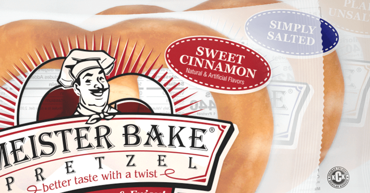 Meister Bake Soft Pretzels