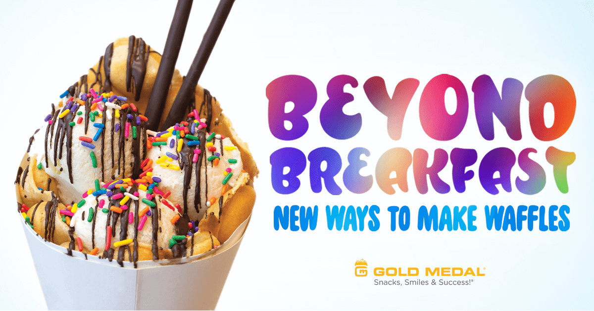 Beyond Breakfast – New Ways to Make Waffles