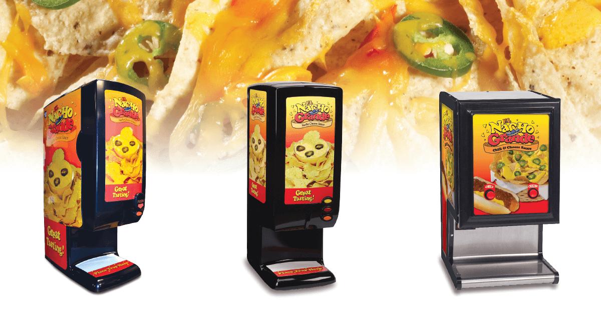 Self-serve Nacho Cheese Dispensers