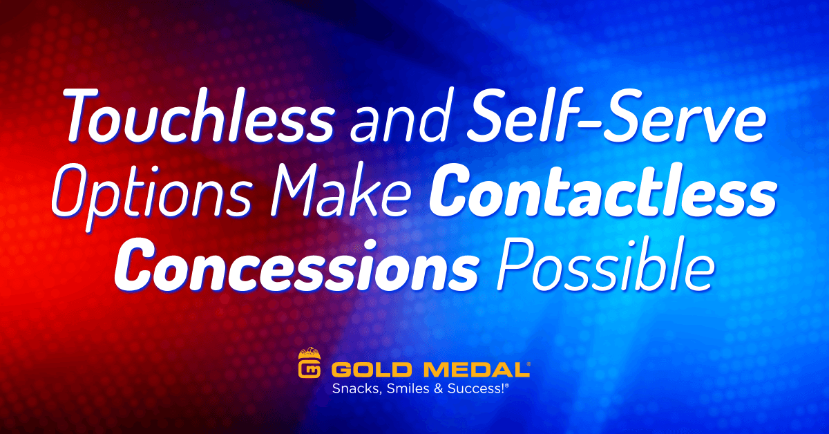 Touchless and Self-Serve Options Make Contactless Concessions Possible