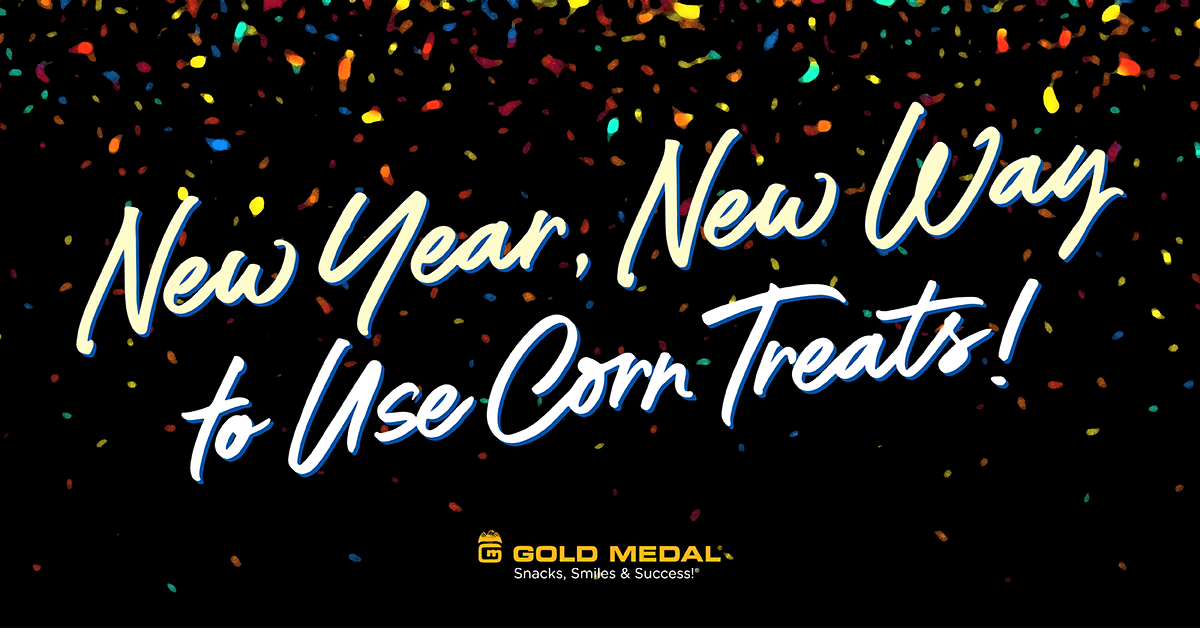 New Year, New Way to Use Corn Treats