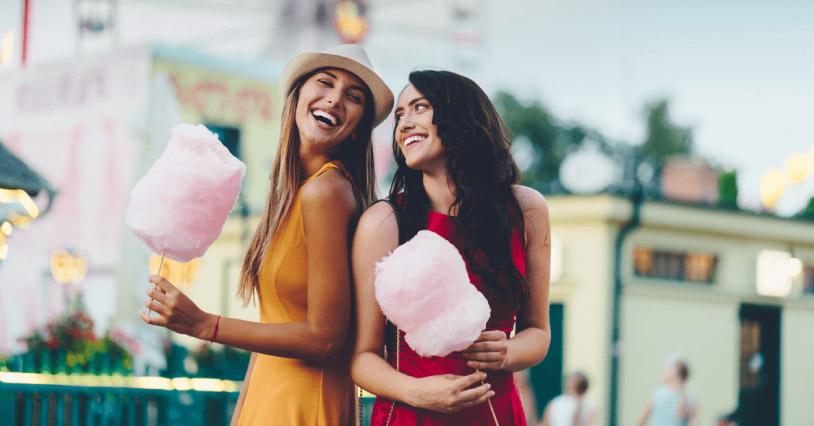 Cotton Candy Around the World