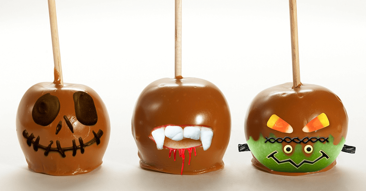 Creative Caramel Apples