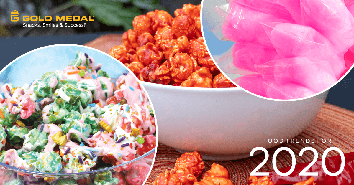 2020 Food Trends: Bright and Bold Food