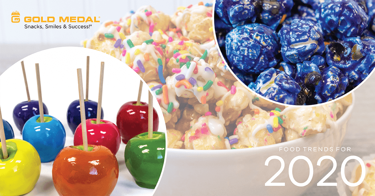 Food Trends for 2020 – Bright & Bold