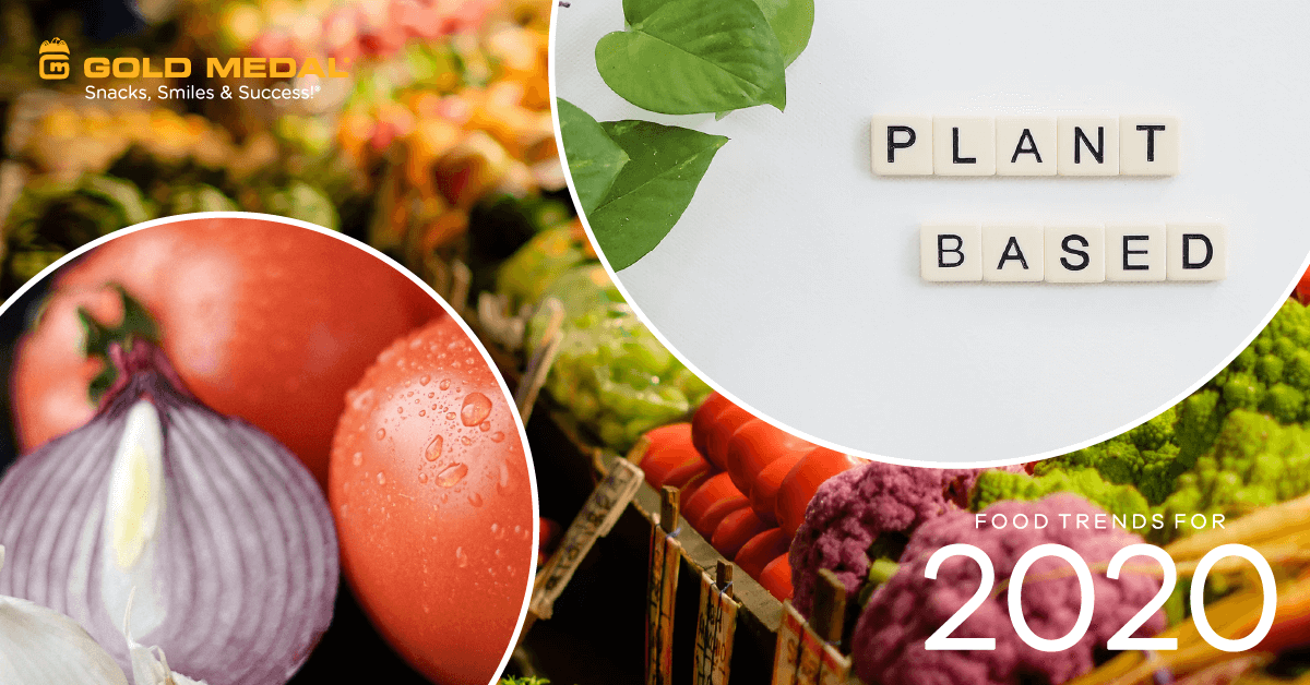 2020 Food Trends: Plant-Based Products