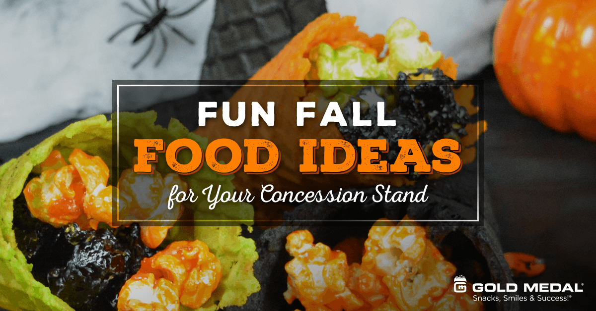 Fun Fall Food Ideas for Your Concession Stand