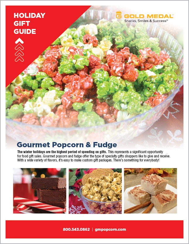 Gold Medal Holiday Gift Guide – Gourmet Popcorn & Fudge