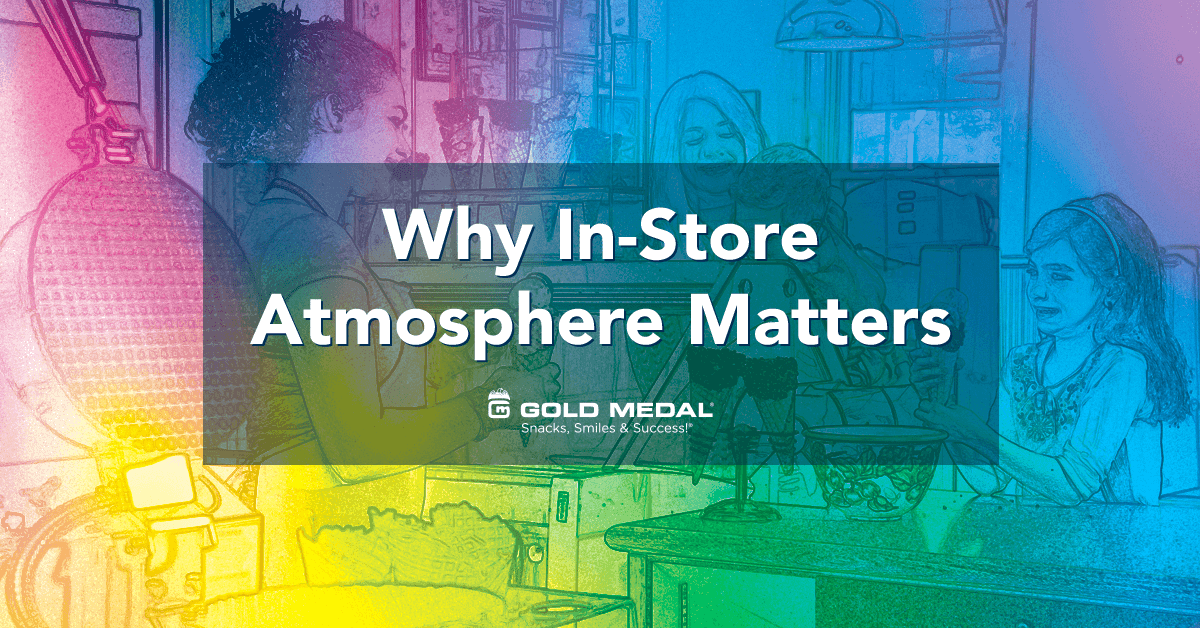 Pourquoi l'atmosphère en magasin est importante