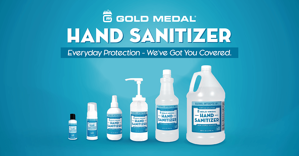 Gold Medal's Hand Sanitizers