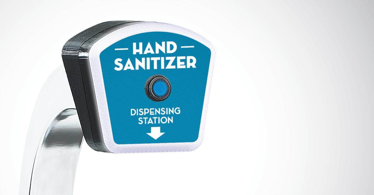 Gold Medal Touchless Commercial Hand Sanitizing Dispenser