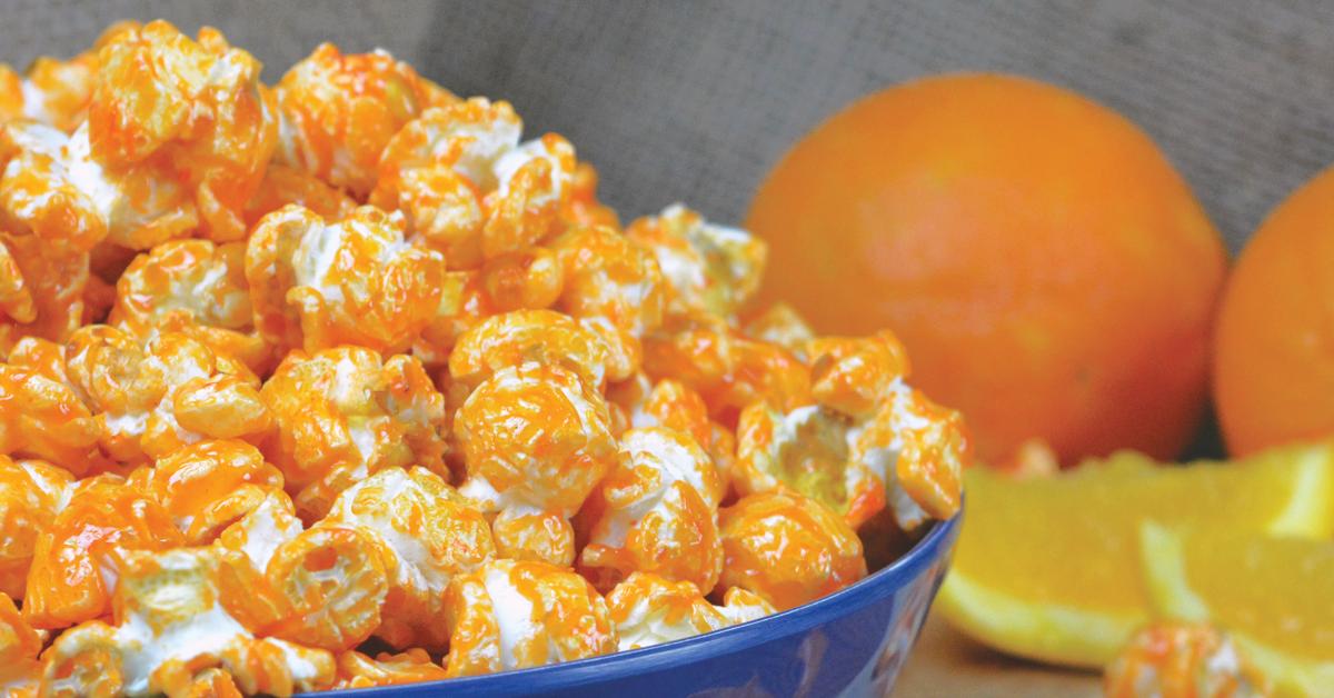 Orange Popcorn Recipe