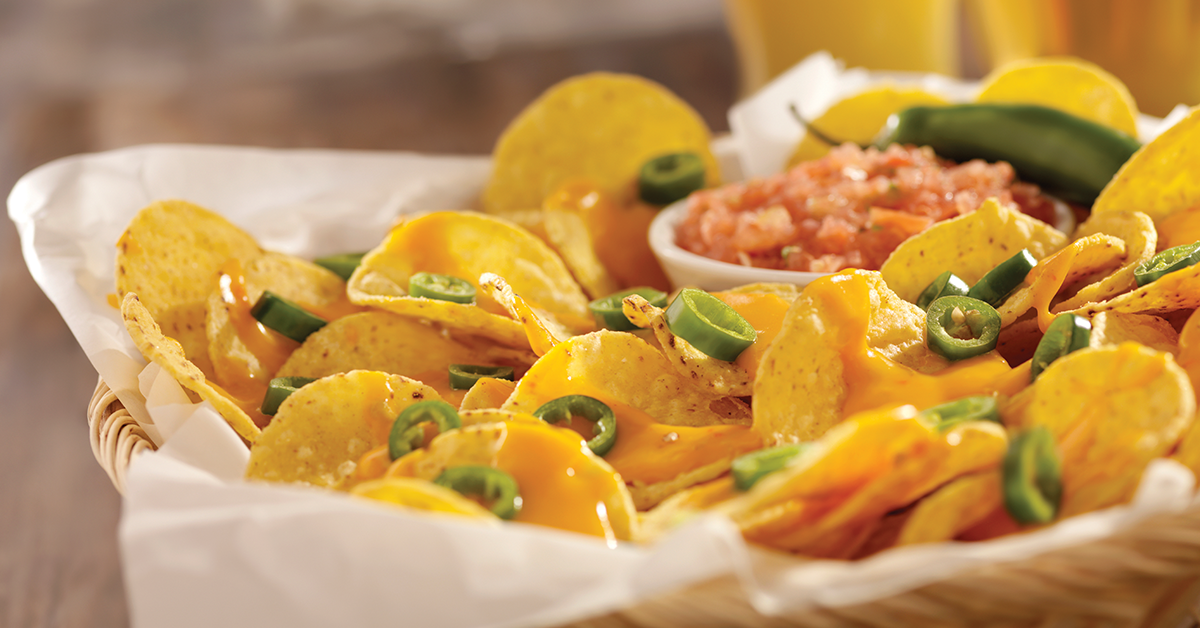 Spice it up with Nachos and Salsa