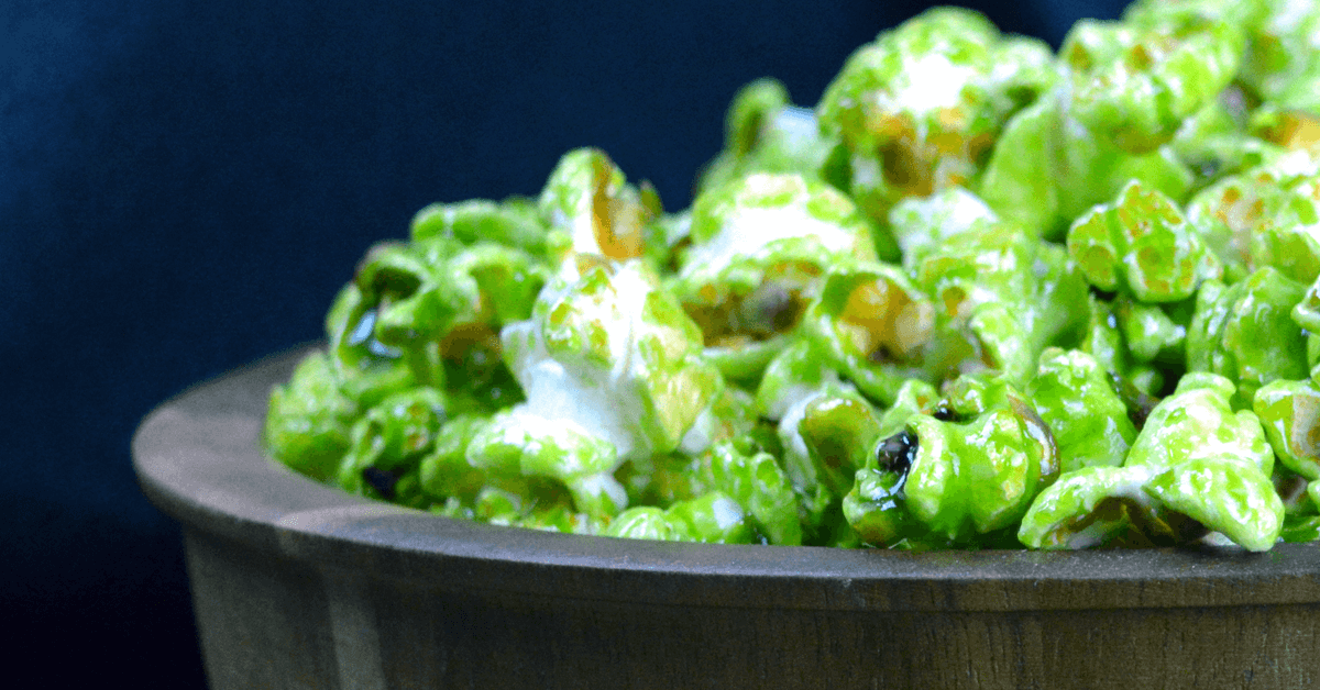 St. Patrick's Day Green Popcorn