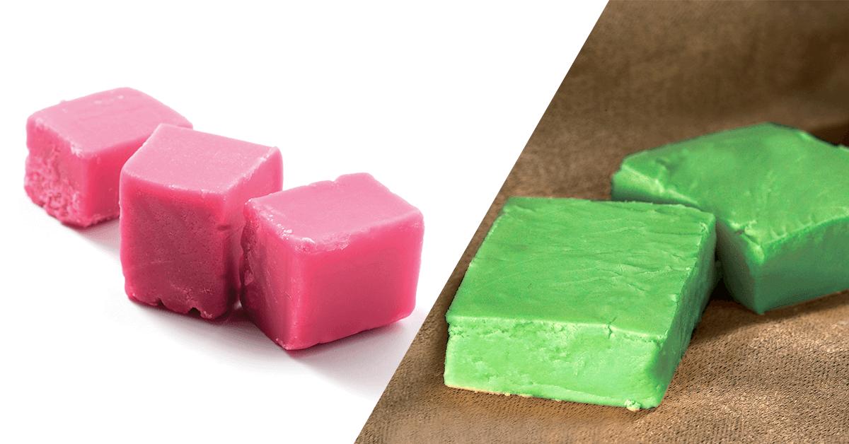 Cotton Candy & Lime Fudge