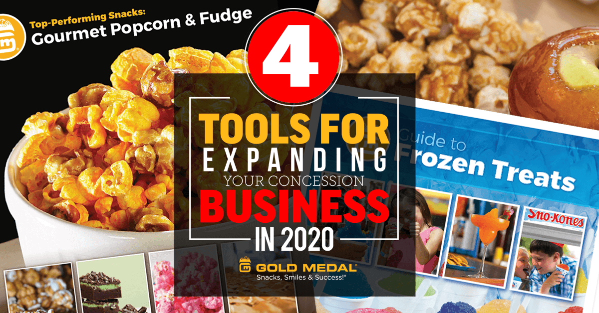 4 Tools For Expanding Your Concession Business in 2020