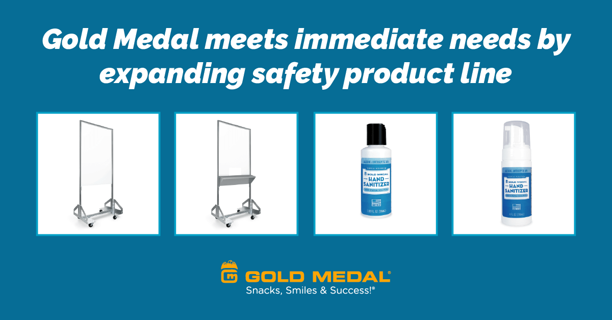 Gold Medal meets immediate needs by expanding safety product line