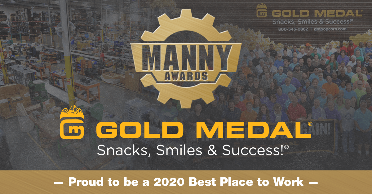 Gold Medal Products Co. - Best Place to Work - MANNY Award