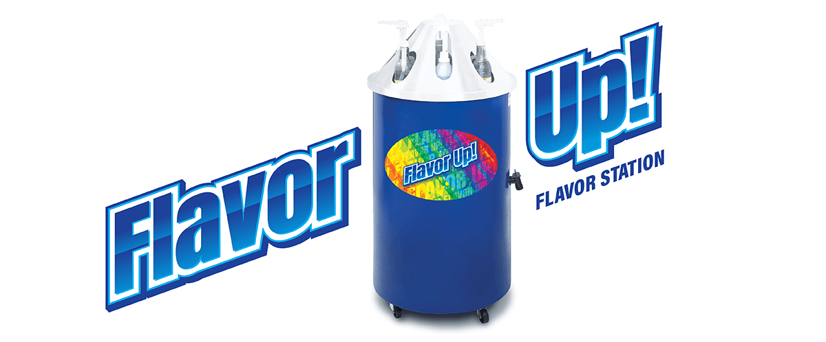 Flavor Up Flavor Dispensing Station