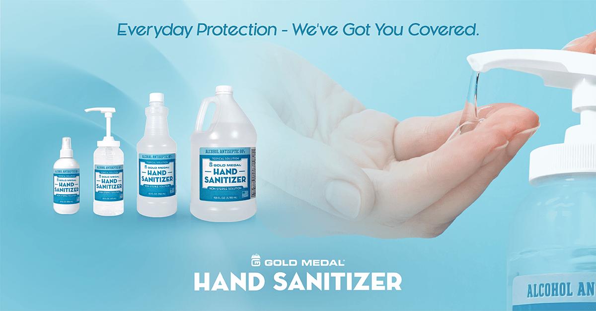 Gold Medal's Hand Sanitizer