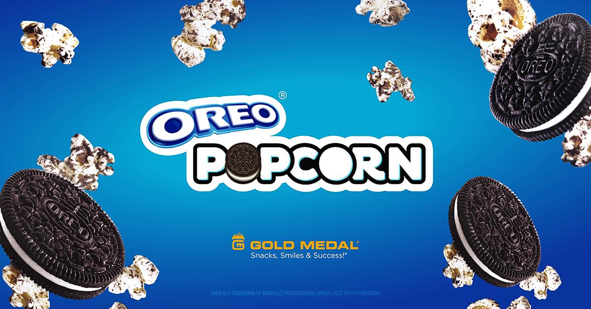 OREO® and Gold Medal Team Up to Create OREO Popcorn Kits
