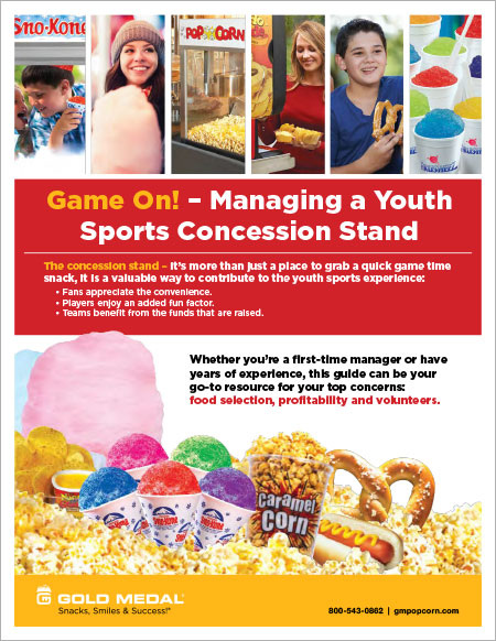 Game On! Managing a Youth Sports Concession Stand
