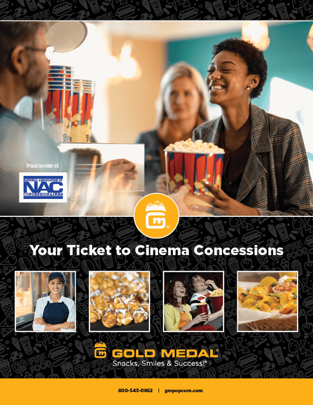 Your Ticket to Cinema Concessions